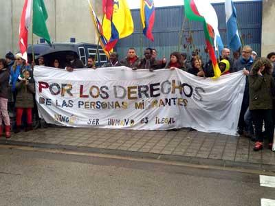 IX Marcha por el cierre de los Centros de Internados de Extranjeros