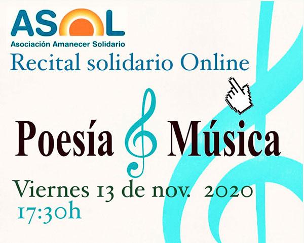 Recital Solidario online